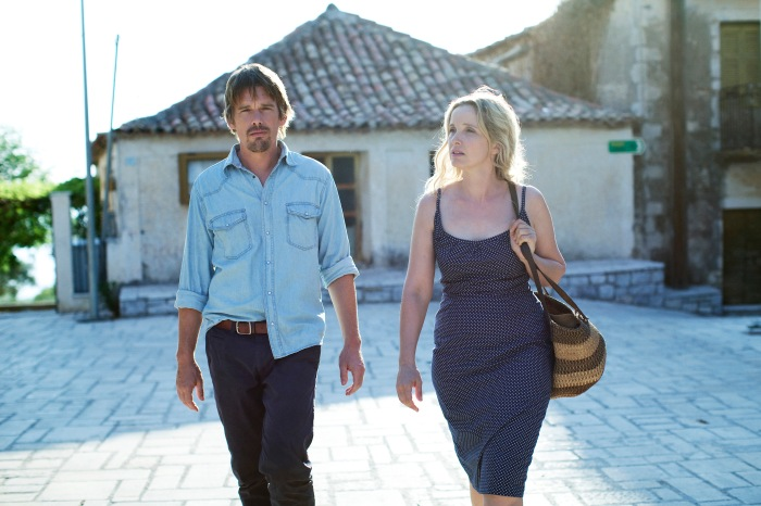 Jesse (Ethan Hawke) and Celine (Julie Delpy) talk it out a little more
