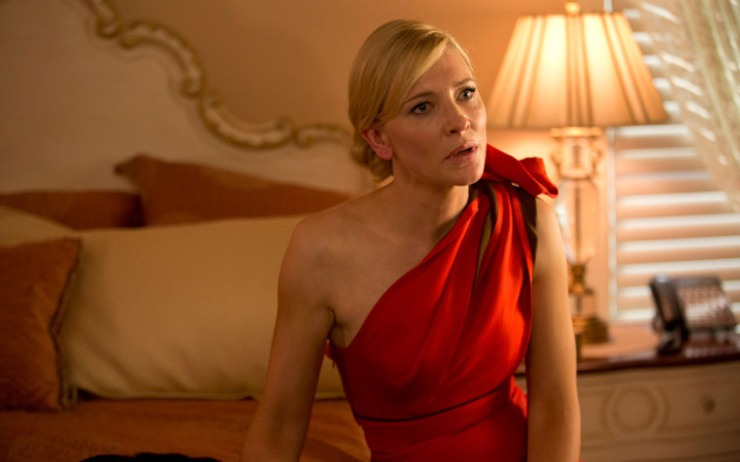 Jasmine (Cate Blanchett) is about to go from material riches to emotional rags