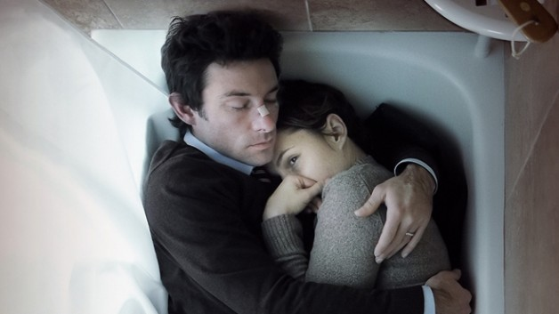 Jeff (Shane Carruth) and Kris (Amy Seimetz) cling to meaning in one another as the world around them loses clarity