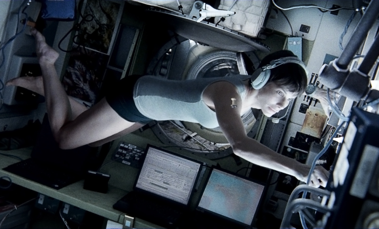 Astronaut Ryan Stone (Sandra Bullock) will face a fight for survival