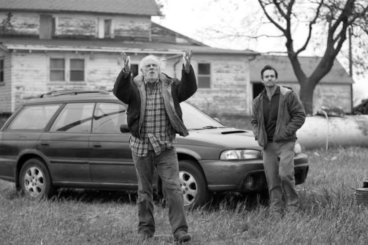 Woody Grant (Bruce Dern) is on one last road trip with his son David (Will Forte)