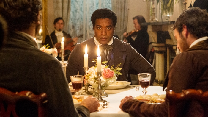 Solomon Northup (Chiwetel Ejiofor) has no idea of the ordeal ahead of him