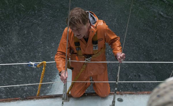 'Our Man' (Robert Redford) struggles against the elements