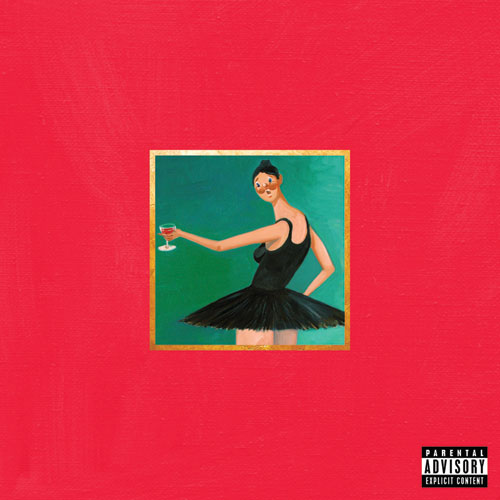 13 Kanye West My Beautiful Dark Twisted Fantasy